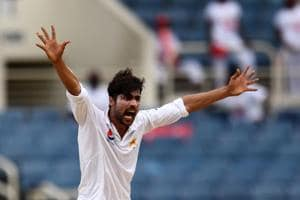 Mohammad Amir takes five as rain ruins West Indies vs Pakistan 1st...