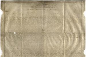 Rare manuscript of US Declaration of Independence found in England