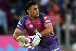 IPL 2017: MS Dhoni's knock impresses 'rivals' David Warner, Virender...