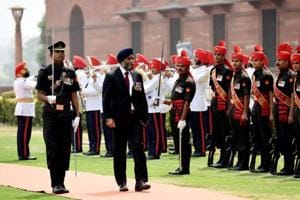 Canada defence minister Sajjan managed to avoid controversy during...