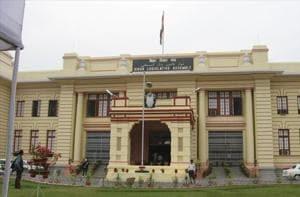 The Bihar legislative assembly building in Patna.