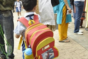Now, Class-1 students won't have to carry books and bags in Haryana