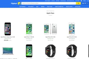 Apple is offering varying discounts on its products on Flipkart as part of Apple Days sale.