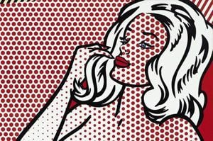 Roy Lichtenstein's popular painting Nude Sunbathing to be auctioned at...