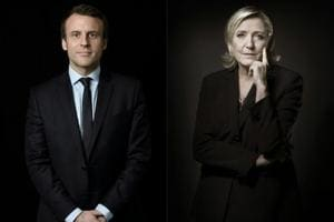 France's next leader: Centrist Emmanuel Macron, far-right Marine Le...