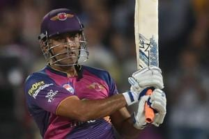 For Rising Pune Supergiant  finisher MS Dhoni, 'no required rate too...