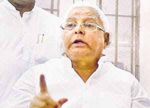 Counter attack his defence on family wealth, Lalu targets bete noire...