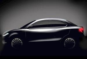 Maruti Suzuki teased the DZire in a sketch on Friday. The compact sedan will be unveiled on April 24 and launched in May.