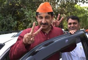 Now, Delhi University's survey predicts landslide victory for BJP in...