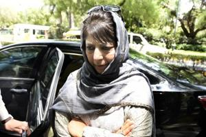Situation in Kashmir will improve in 2-3 months: Mehbooba after...