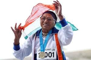101-year-old athlete Mann Kaur sets world record to win World Masters gold