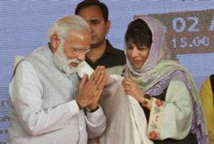 Jammu and Kashmir CM Mehbooba may meet PM today to discuss unrest in...