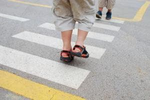 Stop, look, don't go: Study says children below 14 cannot cross roads...