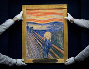 Rare clouds may have inspired Edvard Munch's iconic painting The...