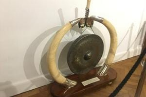 'Raj era' ivory framed gong removed from UK royal exhibition