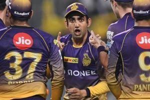 IPL 2017: Kolkata Knight Riders responded after my 'threat' - Gautam...