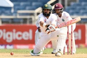 Misbah-ul-Haq stranded on 99*, Pakistan take control vs West Indies