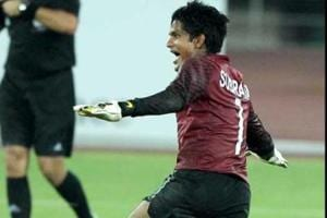 Subrata Paul, star of Indian football team's Asian Cup campaign, fails...