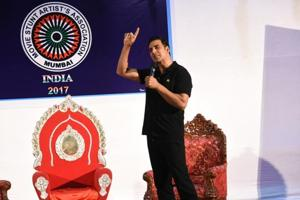 Stuntmen should get equal respect at award shows: Akshay Kumar