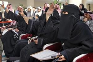 Saudi Arabia on UN commission protecting women — now that's a cruel...
