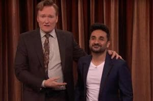 Indians are the white people of brown people: Vir Das debuts on Conan