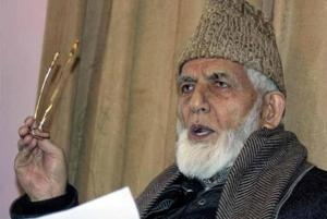 Hurriyat leader Geelani denounces political murders in Kashmir