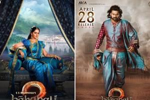 Baahubali 2: News posters of Amarendra, Devasena set the stage for big...