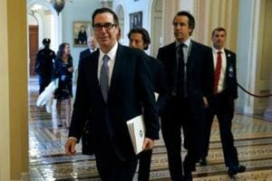 US Treasury Secretary Mnuchin says business tax rate at 15% in Trump...