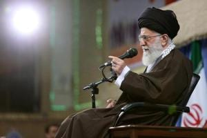 Iran's supreme leader Khamenei says next president should be less...
