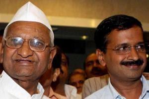 MCD results: Hazare says Kejriwal has lost credibility; Yadav, Bhushan...