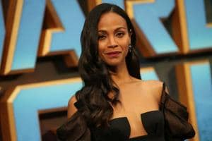 Guardians of the Galaxy star Zoe Saldana accidentally reveals the...