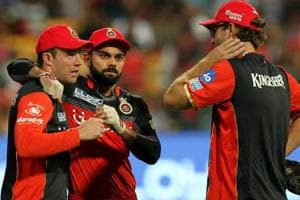 Royal Challengers Bangalore vs Gujarat Lions: Virat Kohli's men under...