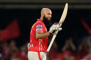 Hashim Amla has been enjoying a superb run of form for Kings XI Punjab in the 2017 Indian Premier League (IPL).