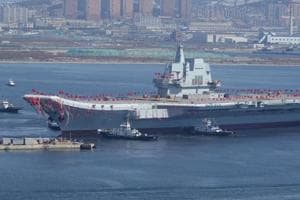 China launches 2nd aircraft carrier amid regional tensions