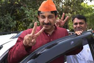 Results of MCD elections 2017 were announced on Wednesday. The BJP is set to win majority in all three municipal corporations. Delhi BJP chief Manoj Tiwari demanded Delhi Chief Minister Arvind Kejriwal's resignation.