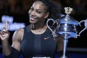 Serena Williams says revealing pregnancy to the world 'was an...