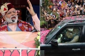 Prime Minister Narendra Modi on Thursday arrived in Himachal Pradesh's...