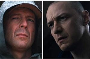 Shyamalan reunites with Bruce Willis, Sam Jackson, James McAvoy for...