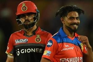 RCBvs GL, IPL 2017, Live cricket score