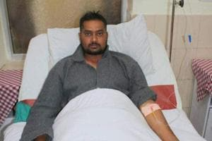 Gunner Rishi Kumar suffered injuries in the encounter but is out of danger.