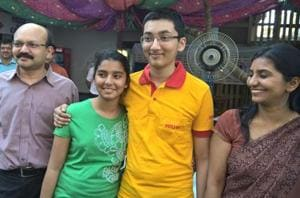 JEE and AIPMT rank holder parents thrilled with son's AIR 43