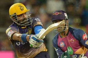 Kolkata Knight Riders' Robin Uthappa hit a blistering 87 during the run chase as the Gautam Gambhir-led side beat Rising Pune Supergiant by seven wickets in Pune on Wednesday.