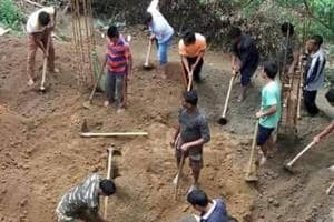 Floods, landslides hit Arunachal capital Itanagar following heavy...