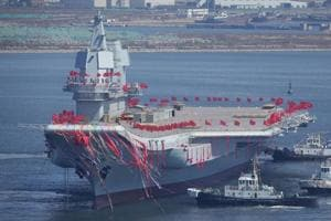 China launches first home-grown aircraft carrier: Beijing catching up...