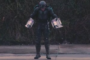 This British inventor might just have created an Iron Man suit. Watch...