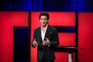 Shah Rukh Khan at his first TED Talk: Indians assume I'm the best...