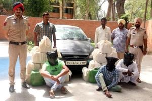 As many as 72 persons have been arrested and 2,575 litre of illegal liquor recovered in April.