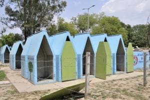 Stinking movable toilets in Chandigarh force people to defecate in the...