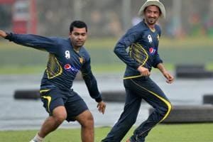 Pakistan cricketers Umar Akmal, Junaid Khan engaged in public spat,...