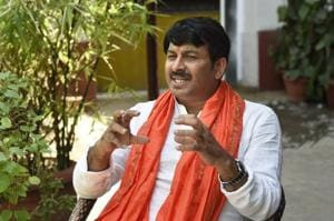 After MCD election win, Manoj Tiwari set to be Delhi BJP's face in...